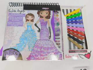 Fashion Angels Glam Fashion Sketch Portfolio Set