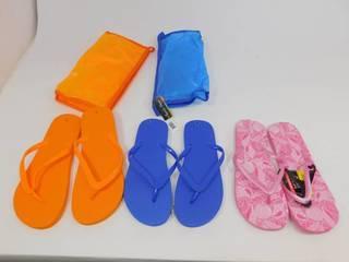 Charlie Paige Flip Flop Bags with Flip Flops