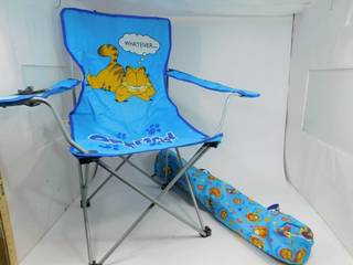 Children's Camping Chair with Garfield Carrying Bag