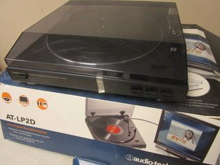 AUDIO-TECHNICA FULLY-AUTOMATIC STEREO TURNTABLE - NEW