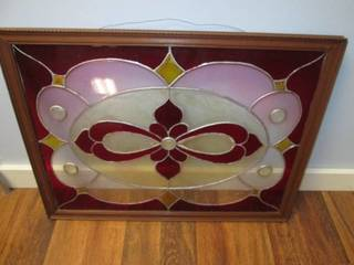 Stained Glass Framed Wall Hanging 2...