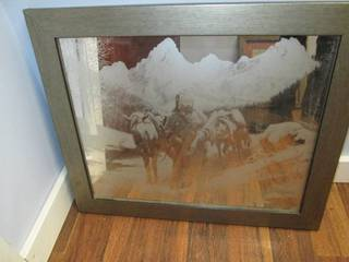 Frosted Glass Mirror Wall Art Piece...