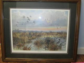 Ducks Unlimited Herb Booth Wall Art...