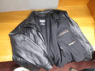 Wilson's Leather Winter Coat With T...