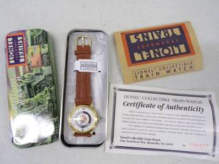 Lionel Train Collectable Watch