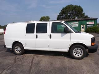 2011 Chevrolet Cargo Van with AWD