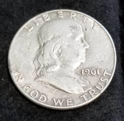 1961-D FRANKLIN HALF DOLLAR