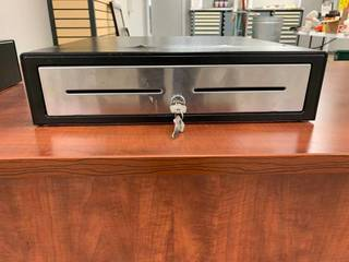 Used lockable cash drawer. Can be m...