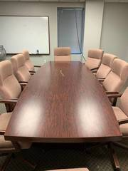 Used laminate board room or meeting...
