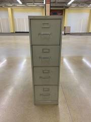 Used 4 drawer vertical file cabinet...