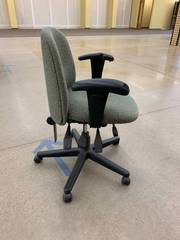 Nice used office chair with damage ...