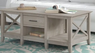 The Gray Barn Coffee Table with Storage Retail:$233.49