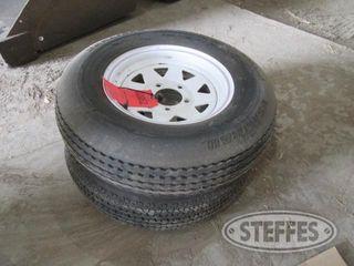 2 13 trailer tires on 5 bolt rims 0 JPG