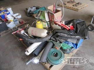 Pallet of yard supplies 0 JPG