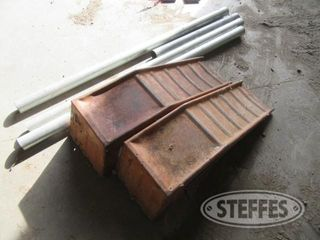 Car ramps galvanized pipe 0 JPG