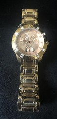 Women's Relic ZR 15668Gold & Rose Tone Watch