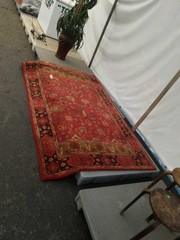 Heavy indoor rug. Potterybarn 5x8