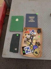 Lot of misc military medals and pins