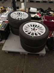 Set of 4 BMW tires and wheel.