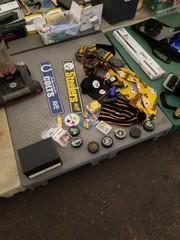 Steelers football misc items.