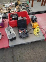 Skid Of Misc Tools