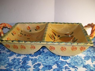 DIVIDED SERVING TRAY - MADE IN ITALY