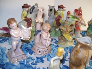 MINIATURE COLLECTION - OLD JAPAN FIGURINES