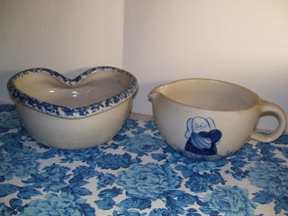 2 MARSHALL TEXAS POTTERY PIECES
