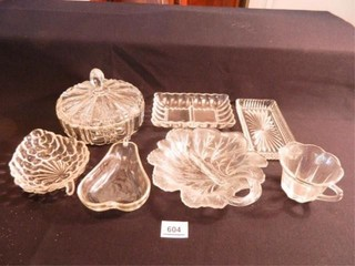 Glass Serving Dishes  Assorted