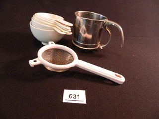 Measuring Cups  Sifter  Strainer