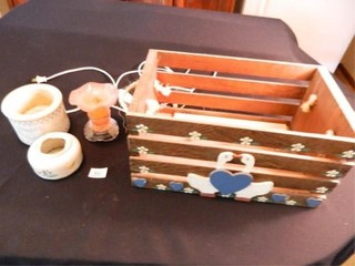 Candle Warmers  Wooden Crate