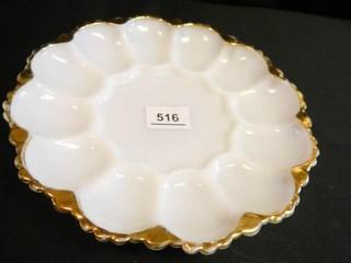 Deviled Egg Plate  10  Diam