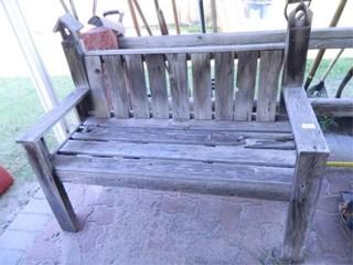 Barnwood Bench  20  x 44  x 36  h