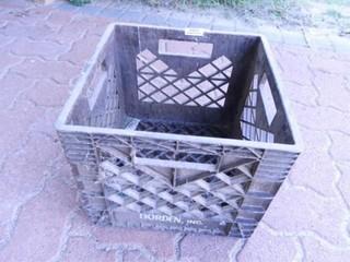 Borden Plastic Milk Crate