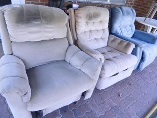 Rocking Recliners  Used Condition