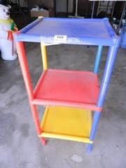 Child s 3 tiered shelf  Plastic