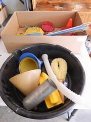 Funnels  Plastic Oil Pan