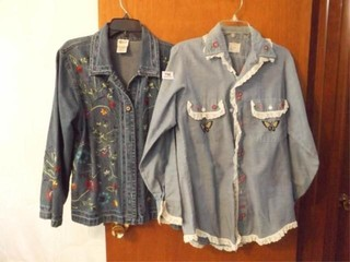 Women s Embroidered Shirts  2  l