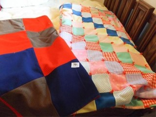 Pieced Blankets  Double Knit