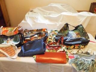 Purses  Bags  9  Scarf Set