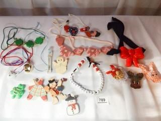 Whimsical  Folk Art Jewelry