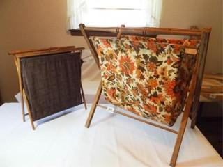 Folding Crafting Holders  2  Wood Frames