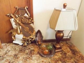 lamp  Decor  7    bronze  gold tones