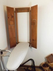 Wall Hung Ironing Board with Cabinet
