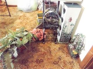 Floral  Bird Decor  TP Roll Holder  5