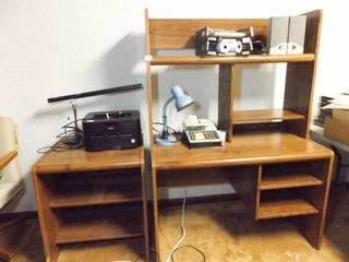 Computer Desk  Printer Stand