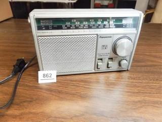 Panasonic 4 Band Receiver  TV Sound
