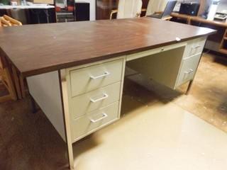 Metal Desk with laminate Top