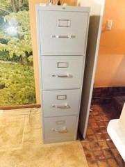 HON File Cabinet  4 Drawer