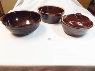Mar Crest Stoneware Bowls  3